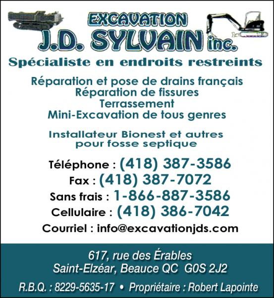 Excavation J.D. Sylvain inc.