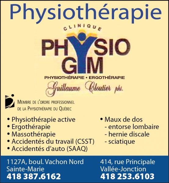 Clinique Physiothérapie Physio-Gym