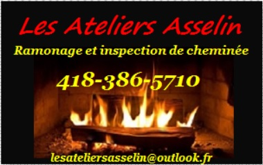 Les Ateliers Asselin - Ramonage