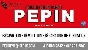 Construction Benoît Pépin