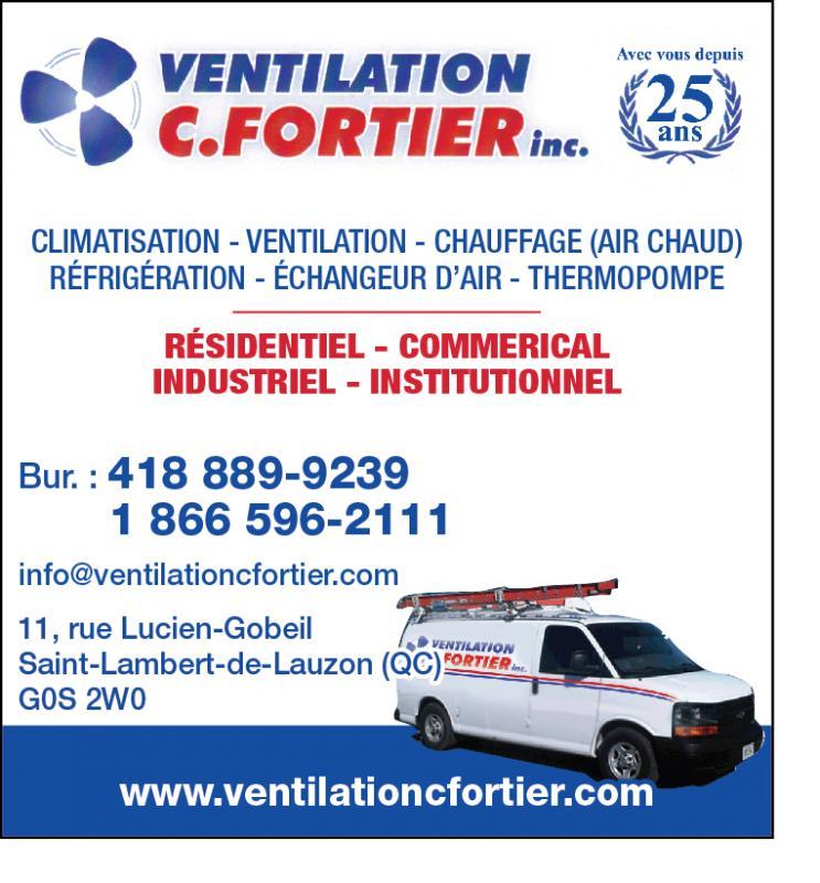 Ventilation C. Fortier