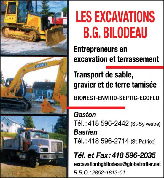 Les Excavations B.G. Bilodeau