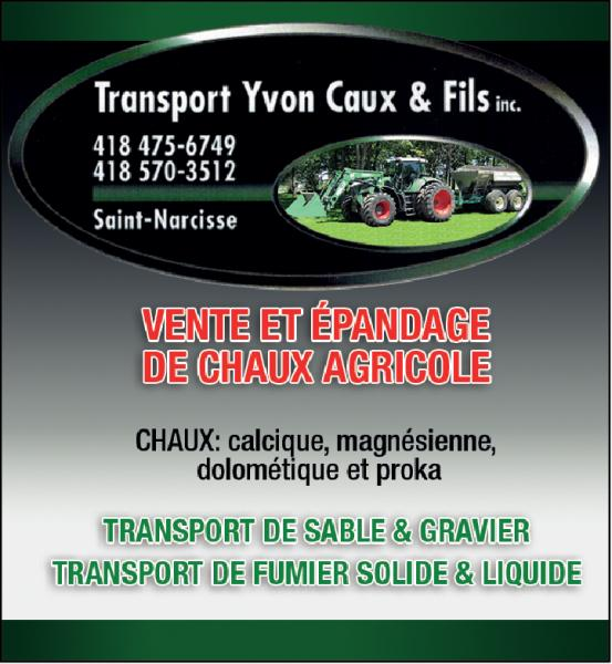 Transport yvon Caux & Fils