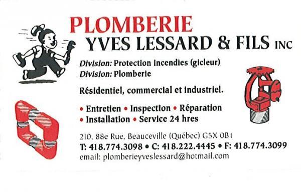 Plomberie Yves Lessard