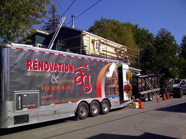 Rénovation AG a tous les outils nécessaires autant pour la construction que pour la sécurité de tous.