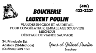 Boucherie Laurent Poulin