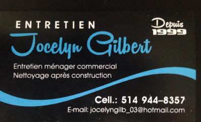 Entretien Ménager et Nettoyage Après Construction Jocelyn Gilbert
