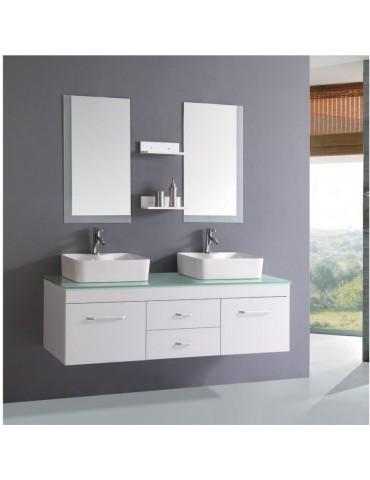 vanité 2 lavabos