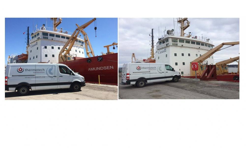 Thermotech Combustion services the steam generators / burners on board our Canadian icebreakers, the Amundsen and the Martha L Black. #ThermotechCombustion #Boiler #Steam #Vessel