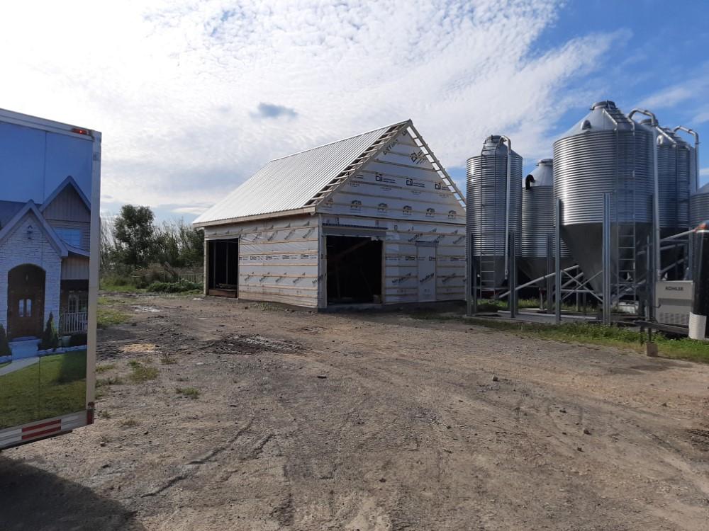 Garage Agricole par Construction Simon Larose