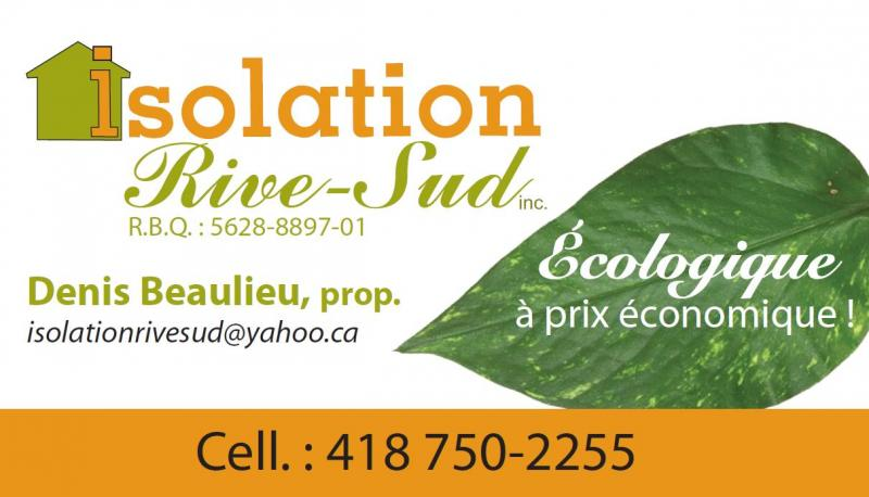 Isolation de la Rive-Sud inc.