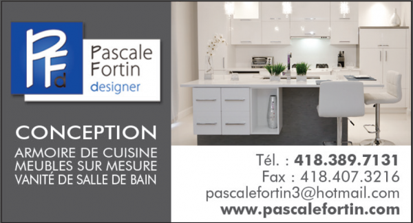 Pascale Fortin, designer