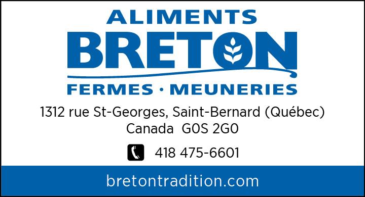 Aliments Breton inc.