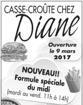 Casse-Croûte Chez Diane | Maregion.ca