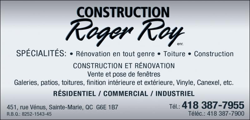 Construction Roger Roy