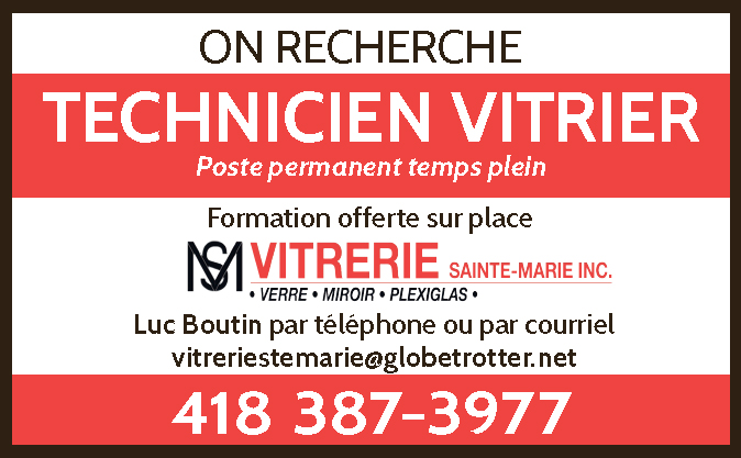 Technicien Vitrier